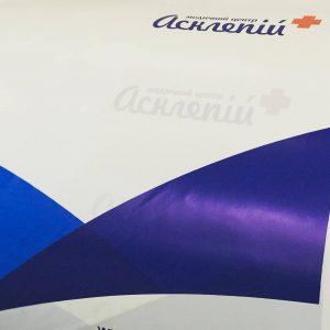 Отпечатанная за смену продукция ожидает очереди на раскрой. Chernigov Package Фото 0