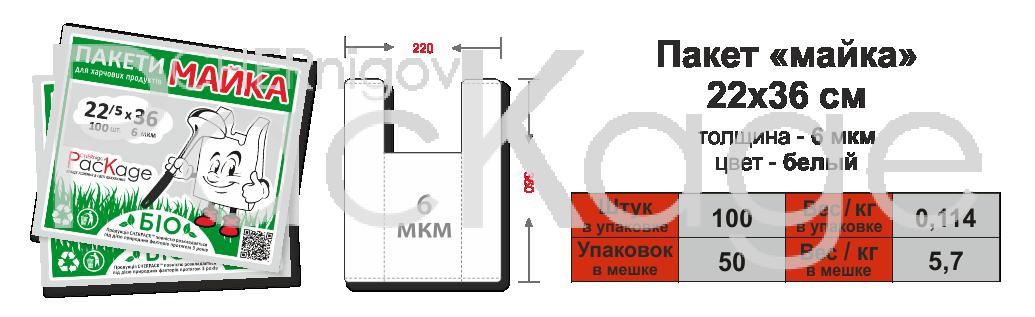 Био-пакеты Chernigov Package фото 2