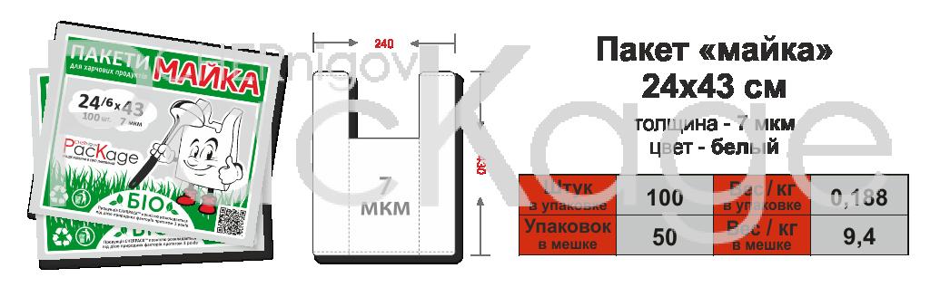 Био-пакеты Chernigov Package фото 3