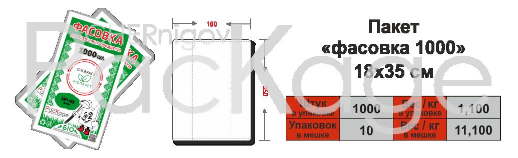 Био-пакеты Chernigov Package фото 1