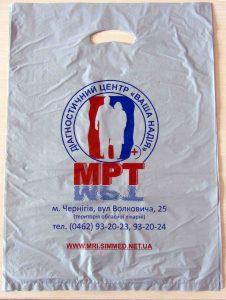 Печать на пакетах майка Chernigov Package фото 0