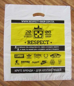 Пакеты банан с логотипом Chernigov Package Фото 0