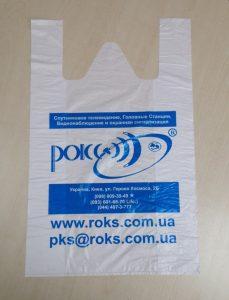 Производство пакетов майка с флексопечатью Chernigov Package Фото 0