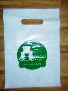 Пакет «майка» и «банан» с логотипом в Киеве Chernigov Package Фото 0
