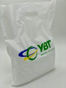 Пакет с логотипом с вырубной усиленной ручкой «банан» и донной складкой - Фото №23