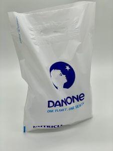 Пакет с логотипом с вырубной усиленной ручкой «банан» и донной складкой - Фото №13