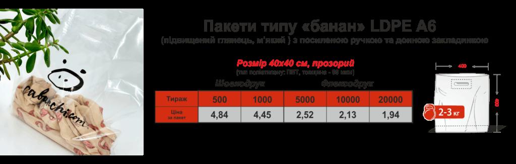 Цены на пакеты с логотипом от 200 шт Chernigov Package фото5
