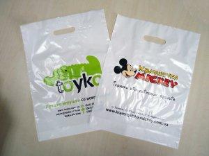 Реклама бренда на пакете с логотипом Chernigov Package Фото 0