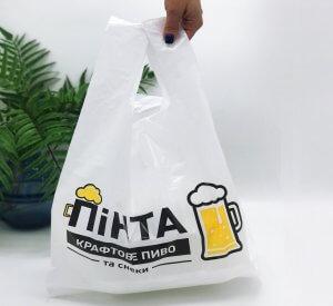 "Пакеты с логотипом типа ""майка"" 400*570, 25 мкм, HDPE -Chernigov Package - Фото IMG_6359"