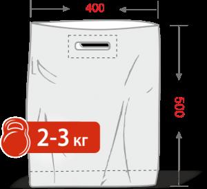 Пакеты с логотипом типа «банан» 400*500, 50 мкм, LDPE -Chernigov Package - Фото ПВД 40х50