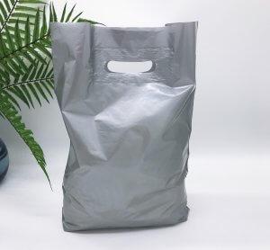 """Пакет активований типу """"банан"""" 300*400 мм, А6 поліетилен, СРІБЛО -Chernigov Package - Фото 30х40_серебро1"""