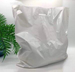 "Пакет активований типу ""банан"" 600*600 мм, А6 поліетилен, БІЛИЙ -Chernigov Package - Фото IMG_0318"
