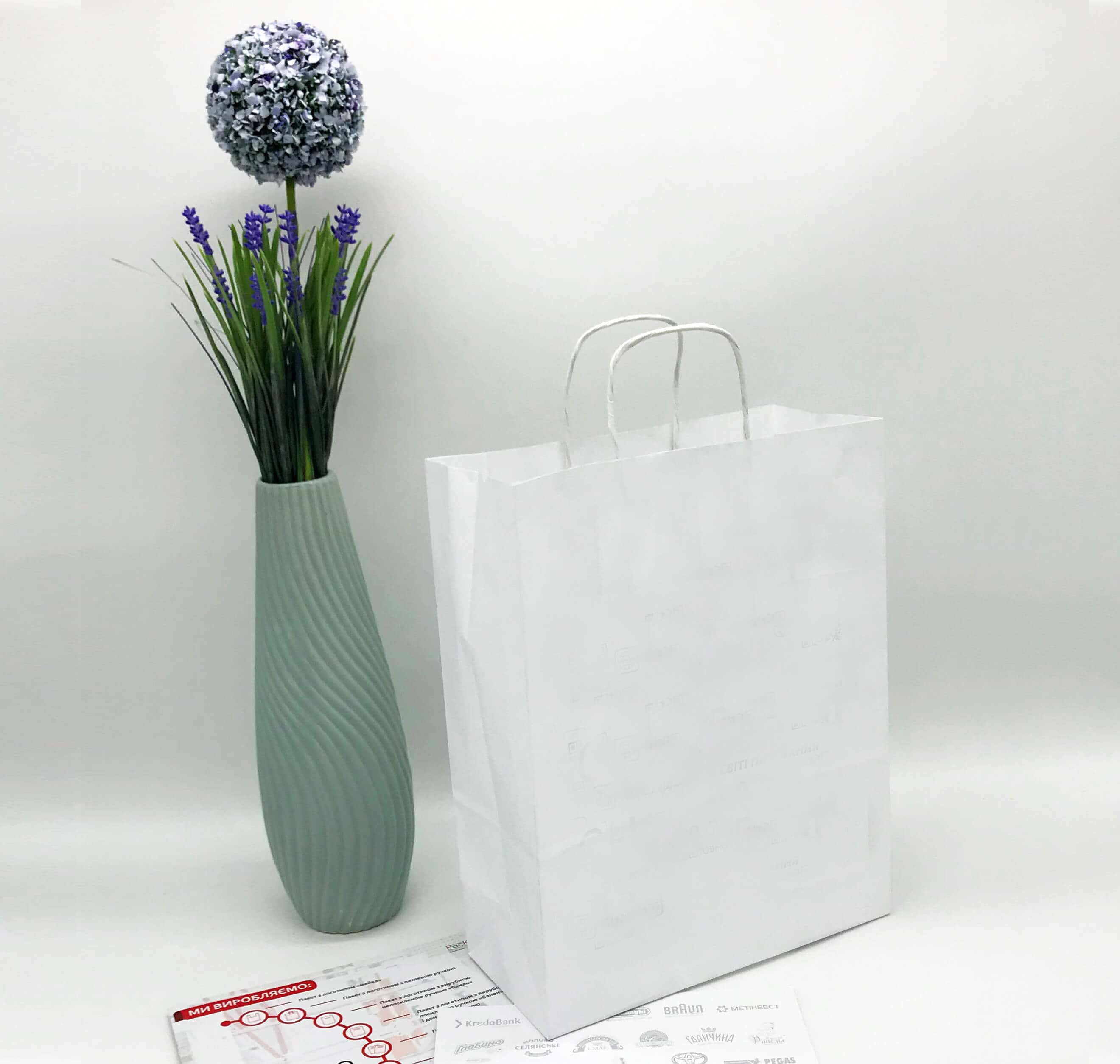 Белый крафт пакет без печати 250*320, 90 г/см -Chernigov Package - Фото Белый мал_бп