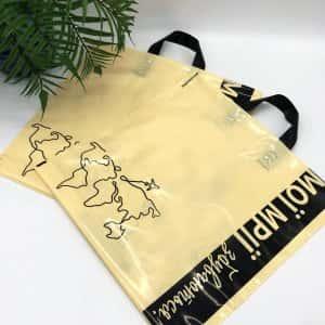 "Bags with loop handle ""Мої мрії збуваються!"" 40х40cm -Chernigov Package - Фото IMG_6756"