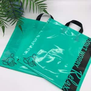 "Bags with loop handle ""Don't worry. Relax"" 40x40cm -Chernigov Package - Фото изображение_viber_2020-03-27_20-25-471"