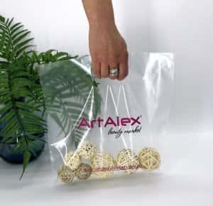 Пакеты с логотипом типа «банан» 300*300, 60 мкм, LDPE -Chernigov Package - Фото IMG_6500