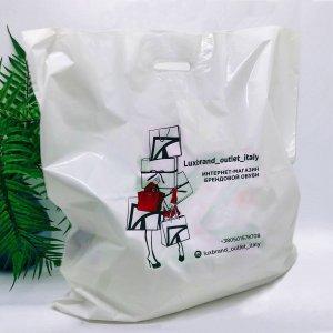 "Пакеты с логотипом типа ""банан"" 600*600, 60 мкм, LDPE -Chernigov Package - Фото Банан_60х60"